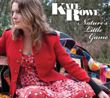Kate Rowe - Nature's Little Game Album Cover